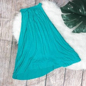 Jolie teal sleeveless top